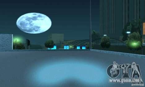 Lampes de couleur néon pour GTA San Andreas cinquième écran