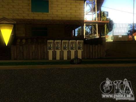 Base de Grove Street pour GTA San Andreas