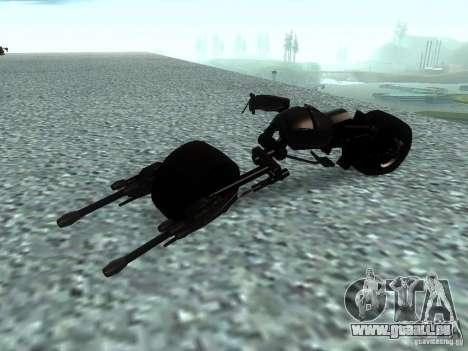 Batpod pour GTA San Andreas