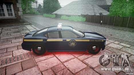 New York State Police Buffalo für GTA 4 Innenansicht