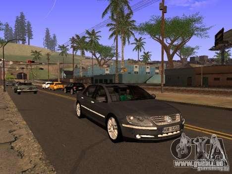 Volkswagen Phaeton W12 pour GTA San Andreas vue de côté