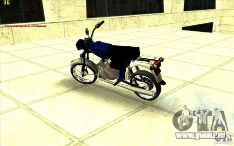 Cyclomoteur : pour GTA San Andreas vue de droite