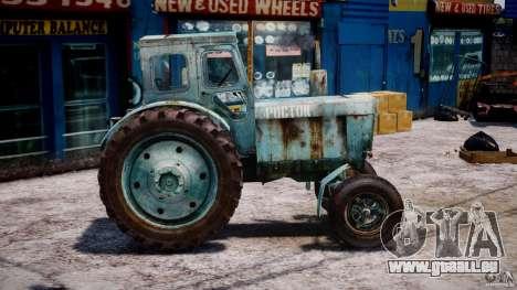 Traktor T-40 m für GTA 4 Innenansicht