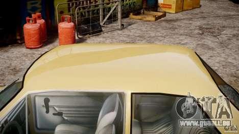 Fiat 126p 1976 pour GTA 4 est une vue de l'intérieur