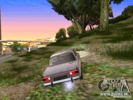AZLK-412 pour GTA San Andreas vue de droite