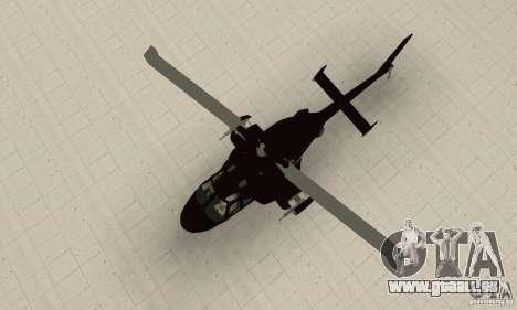 Airwolf für GTA San Andreas rechten Ansicht