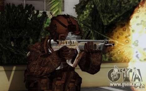 Tavor Tar-21 Steeldigital für GTA San Andreas zweiten Screenshot
