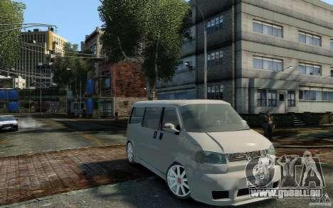 Volkswagen Transporter T4 pour GTA 4 est un droit