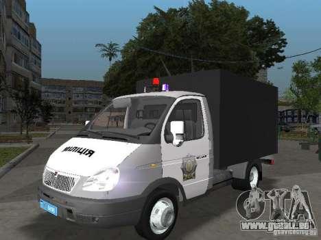 GAZ 3302 Polizei für GTA San Andreas
