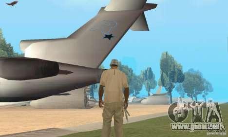 Base of CJ mod pour GTA San Andreas quatrième écran