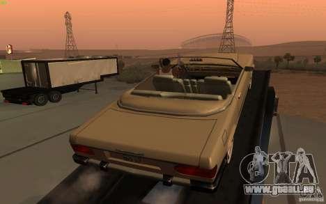 New Feltzer für GTA San Andreas zurück linke Ansicht