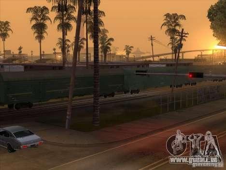 Wagon # 59004960 pour GTA San Andreas vue de droite