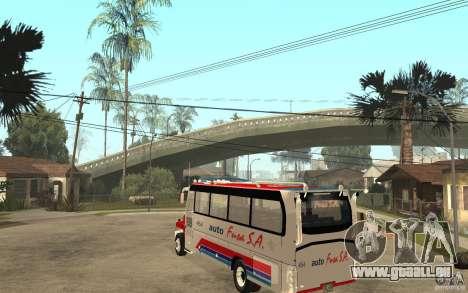 Kodiak B70 - Autofusa Colombia pour GTA San Andreas sur la vue arrière gauche