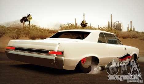 Pontiac GTO Drag Shark für GTA San Andreas linke Ansicht