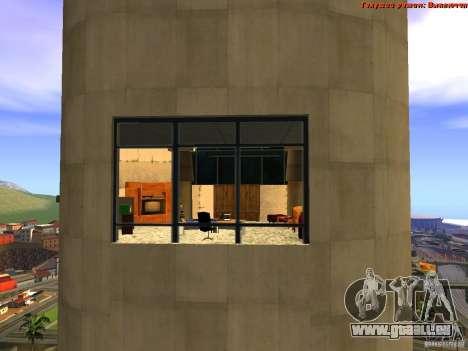 20th floor Mod V2 (Real Office) für GTA San Andreas achten Screenshot