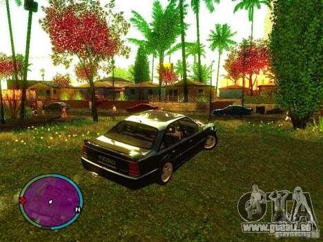Lotus Carlton 1989 pour GTA San Andreas laissé vue