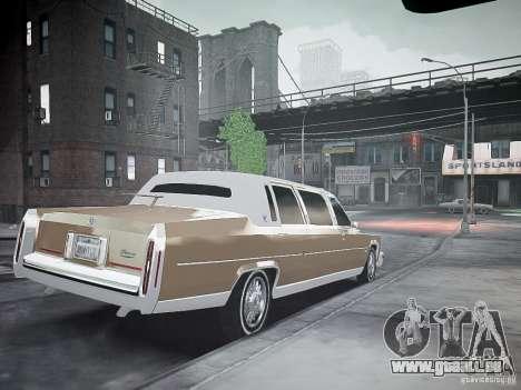 Cadillac Fleetwood 1985 für GTA 4 linke Ansicht