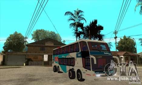 Marcopolo Paradiso 1800 G6 8x2 pour GTA San Andreas vue arrière
