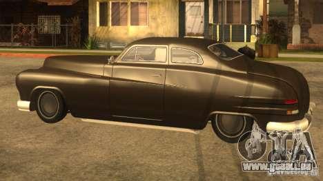 Hermes HD pour GTA San Andreas sur la vue arrière gauche