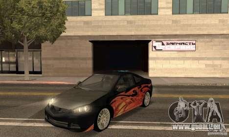 Acura RSX New für GTA San Andreas Seitenansicht