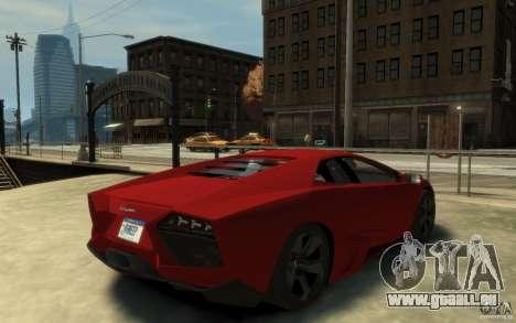 Lamborghini Reventon Coupe für GTA 4 rechte Ansicht