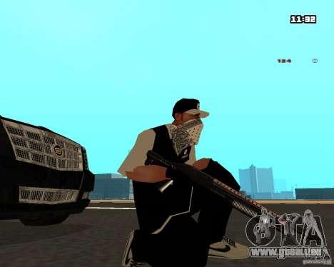 Weapon Pack pour GTA San Andreas deuxième écran