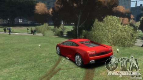 Lamborghini Gallardo LP 560-4 pour GTA 4 est une gauche