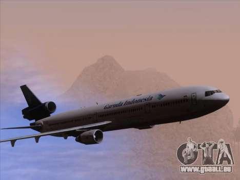 McDonnell Douglas MD-11 Garuda Indonesia pour GTA San Andreas moteur