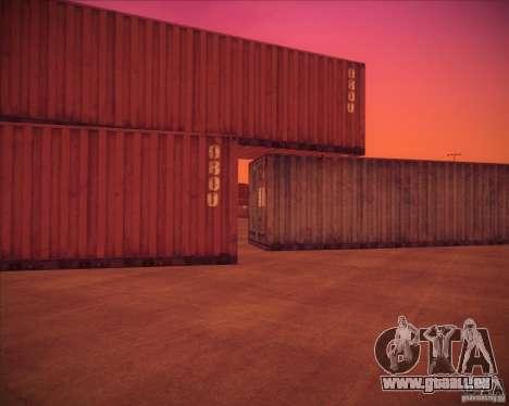 Portland pour GTA San Andreas troisième écran