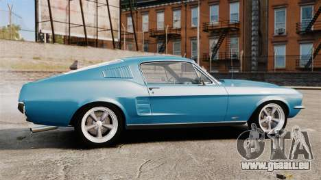 Ford Mustang Customs 1967 pour GTA 4 est une gauche