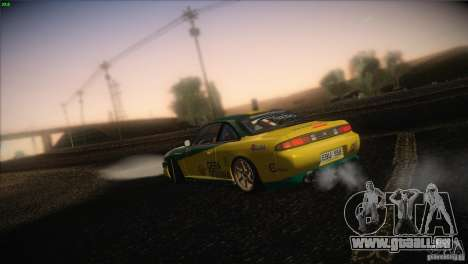 Nissan S14 für GTA San Andreas Unteransicht