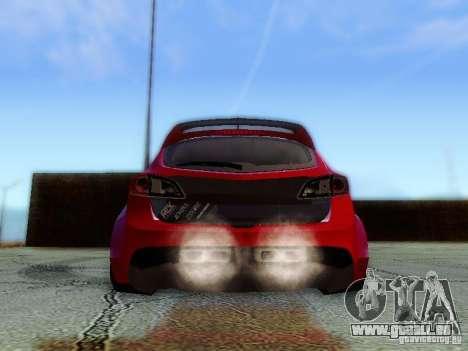Mazda Speed 3 2010 für GTA San Andreas Innenansicht