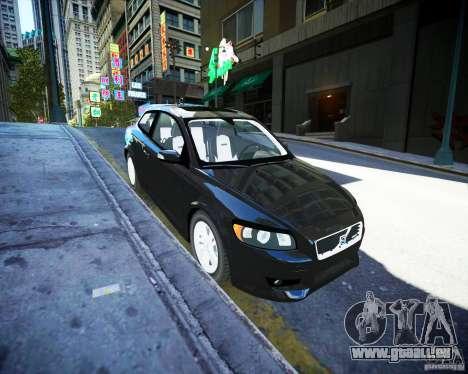 Volvo C30 2009 für GTA 4 Rückansicht