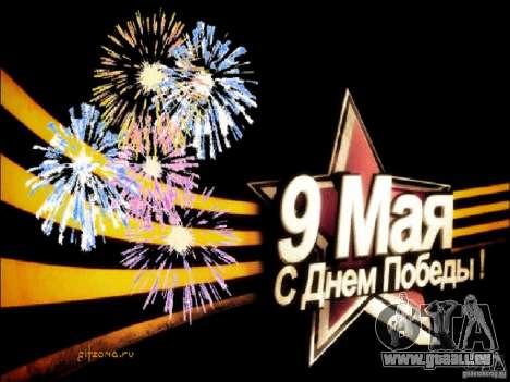 Écran de démarrage 9 mai pour GTA Vice City
