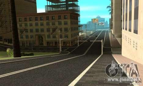 Eine neue Straße (Oberfläche) für GTA San Andreas dritten Screenshot