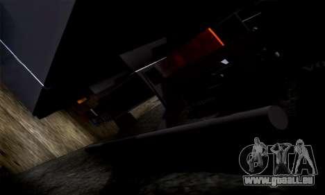 Volvo F10 pour GTA San Andreas vue intérieure