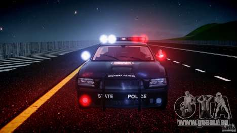 Dodge Charger NYPD Police v1.3 pour GTA 4 roues