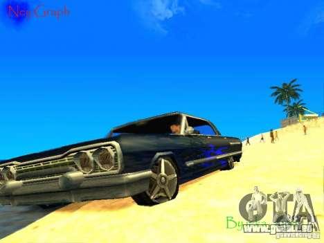Le nouveau graphique par jeka_raper pour GTA San Andreas quatrième écran