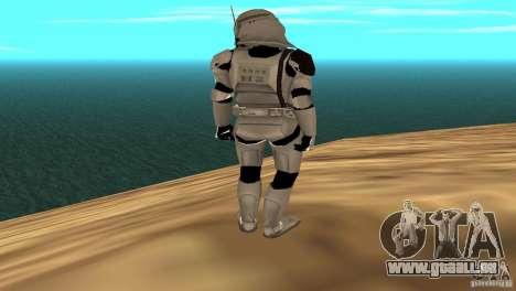 Commander Bacara pour GTA San Andreas quatrième écran