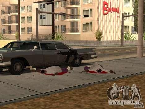 Pak armes domestiques pour GTA San Andreas septième écran