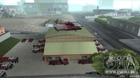 Le feu vif dans la v3.0 SF Final pour GTA San Andreas quatrième écran