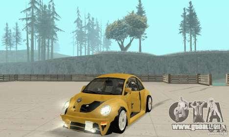 Volkswagen New Beetle GTi 1.8 Turbo pour GTA San Andreas vue de côté
