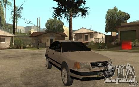 Audi 100 C4 1992 pour GTA San Andreas vue arrière