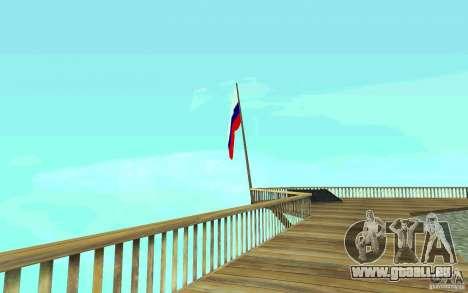 Die Flagge von Russland bei Chiliad für GTA San Andreas