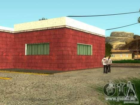 Renouvellement de l'hôpital de Fort Carson pour GTA San Andreas deuxième écran