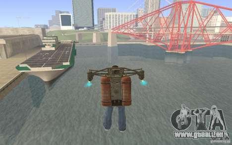 Jetpack im Stil der UdSSR für GTA San Andreas dritten Screenshot