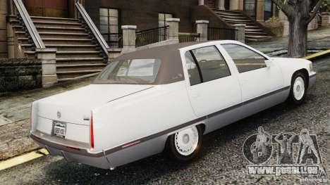 Cadillac Fleetwood 1993 pour GTA 4 est une gauche