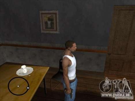 Colt pour GTA San Andreas deuxième écran