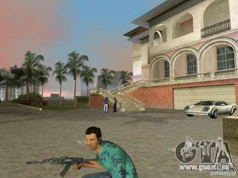 Armes National Parc supérieur pour le quatrième écran GTA Vice City