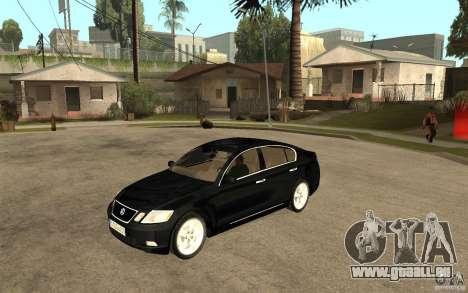 Lexus GS430 2007 pour GTA San Andreas